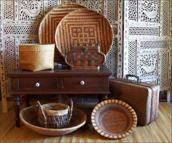Decorar a casa com artesanato regional 008