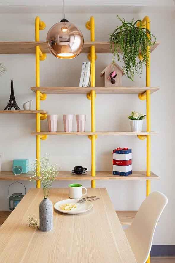 Decore sua casa com canos de aço 004