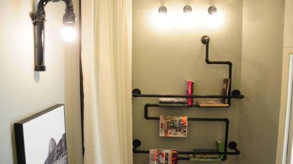 Decore sua casa com canos de aço 012
