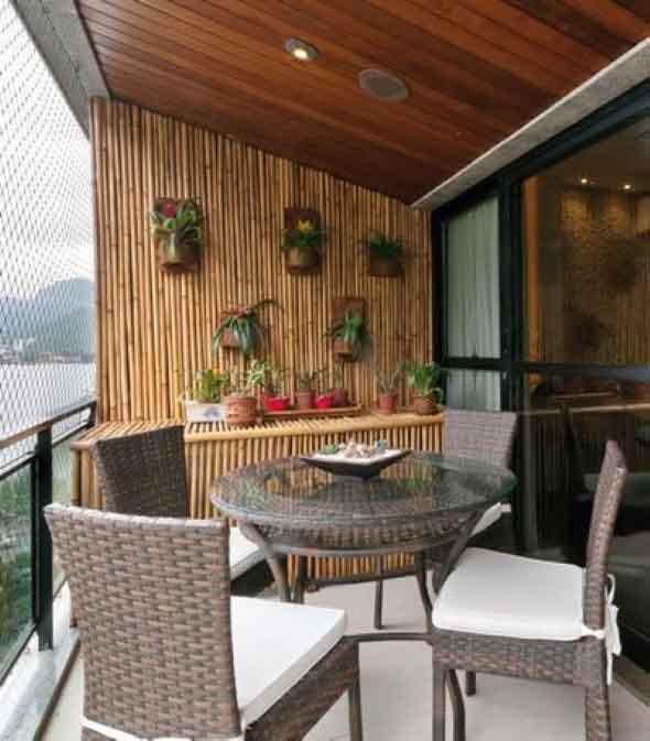 Enfeite sua casa com o charme do bambu 002