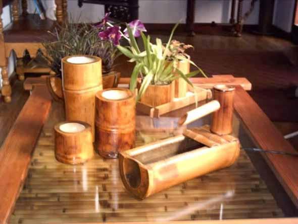 Enfeite sua casa com o charme do bambu 008