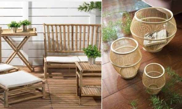 Enfeite sua casa com o charme do bambu 012