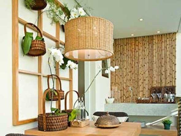 Enfeite sua casa com o charme do bambu 013
