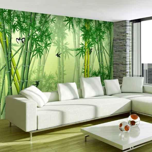 Enfeite sua casa com o charme do bambu 018