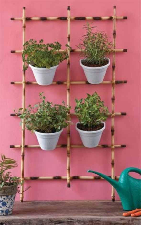Enfeite sua casa com o charme do bambu 020