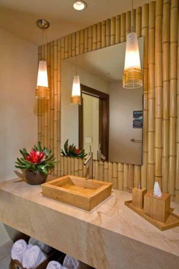 Enfeite sua casa com o charme do bambu 023