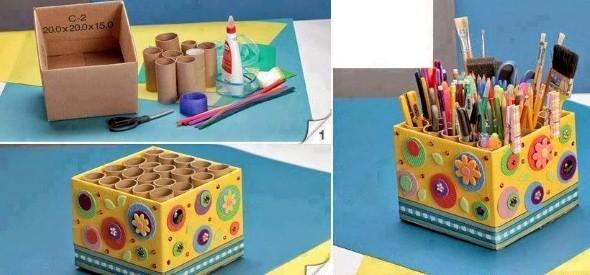 Faça objetos criativos e práticos em casa 015