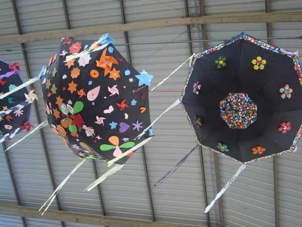 Guarda-chuvas na decoração 008