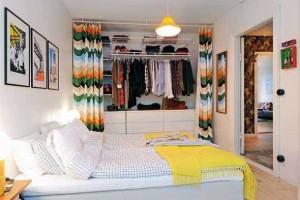 Guarda roupa aberto - Um closet prático para você montar em casa