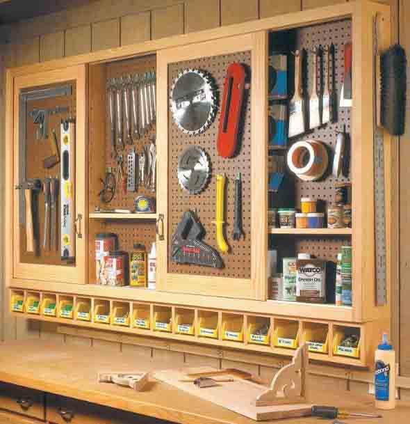 Ideias para deixar ferramentas bem organizadas 002