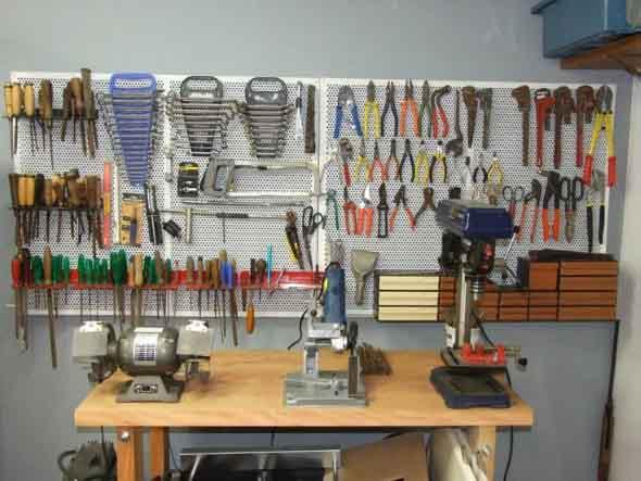Ideias para deixar ferramentas bem organizadas 003