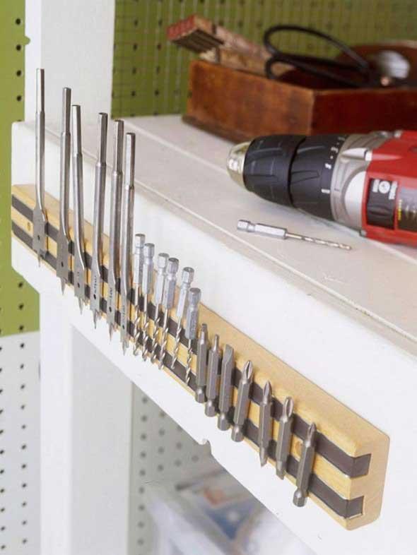 Ideias para deixar ferramentas bem organizadas 004