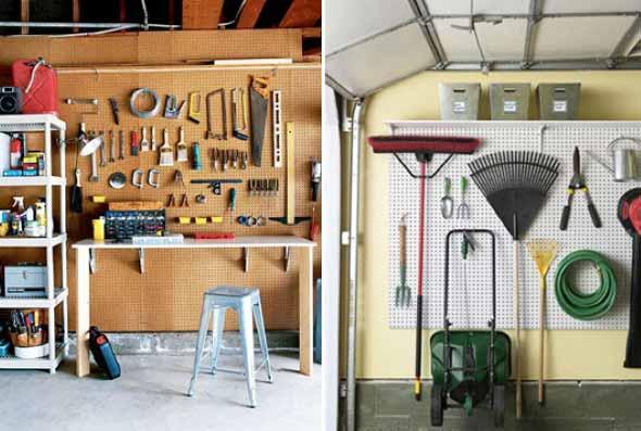 Ideias para deixar ferramentas bem organizadas 007