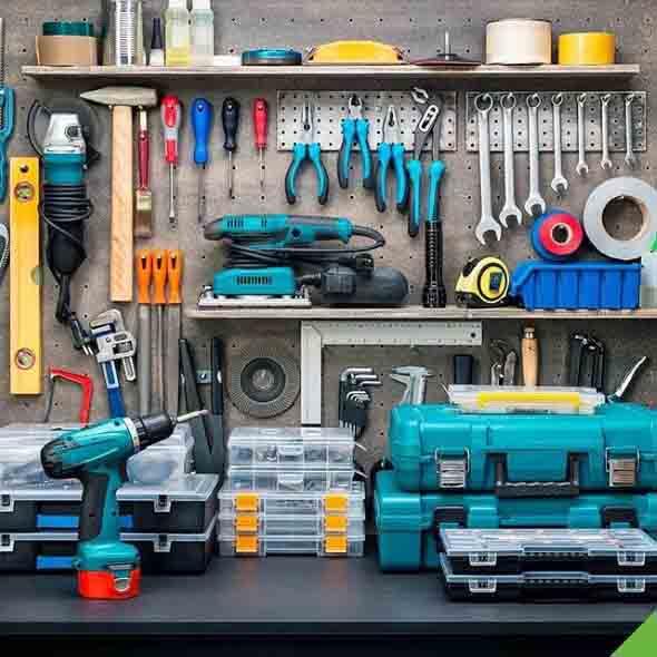 Ideias para deixar ferramentas bem organizadas 012