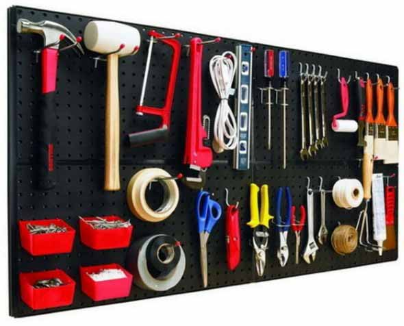 Ideias para deixar ferramentas bem organizadas 014