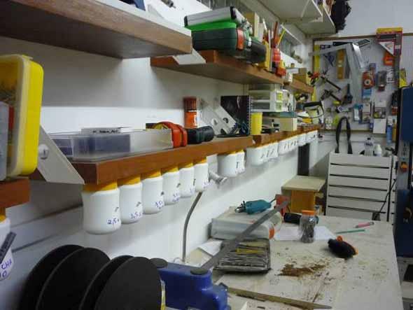 Ideias para deixar ferramentas bem organizadas 018