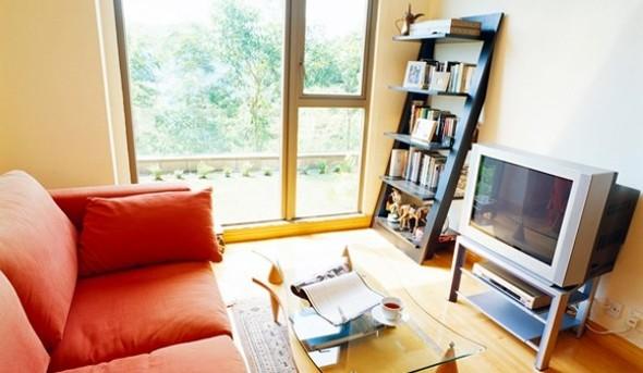 Ideias simples para decorar salas pequenas 002