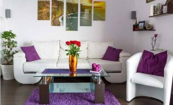 Ideias simples para decorar salas pequenas 009