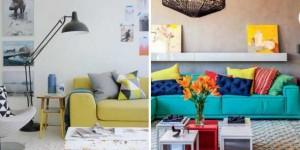 Ideias simples para decorar salas pequenas - Confira
