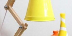 Luminária de material reciclado 011