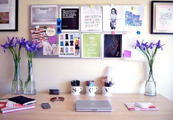 Painel de anotações Home Office 001