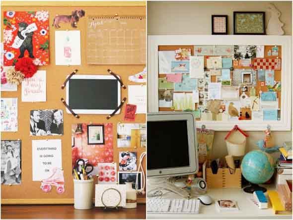 Painel de anotações Home Office 010