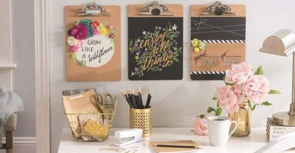 Painel de anotações Home Office 014