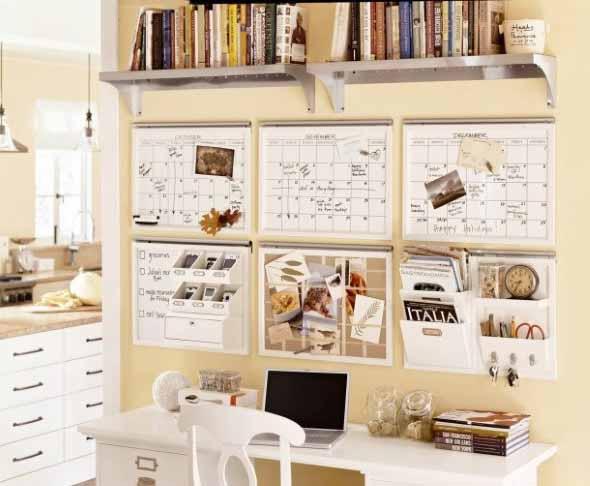 Painel de anotações Home Office 015