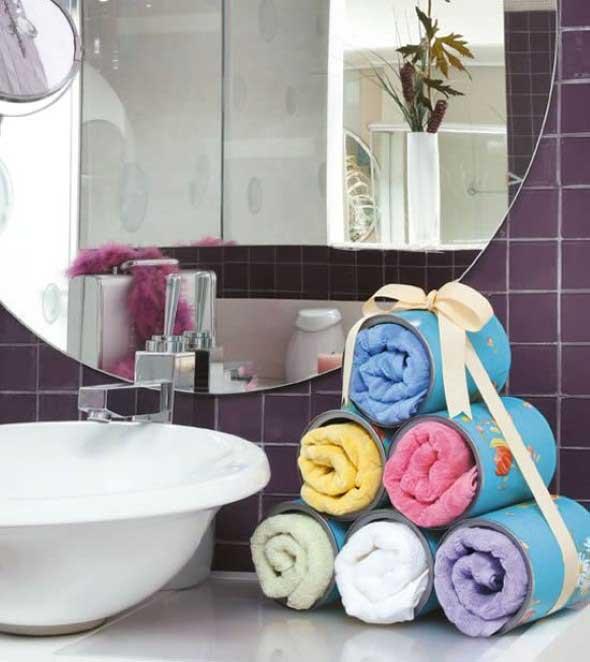 Saiba como ter em casa um prático porta toalhas 003