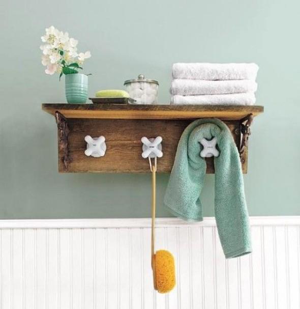 Saiba como ter em casa um prático porta toalhas 012