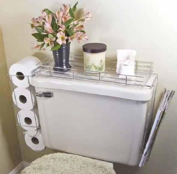 Soluções práticas para banheiros pequenos 003