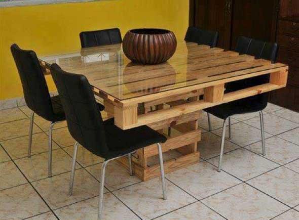 Sugestões de mesas artesanais criativas 001