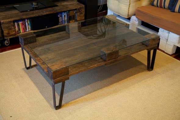 Sugestões de mesas artesanais criativas 002