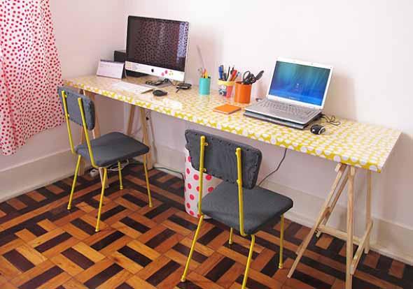 Sugestões de mesas artesanais criativas 003