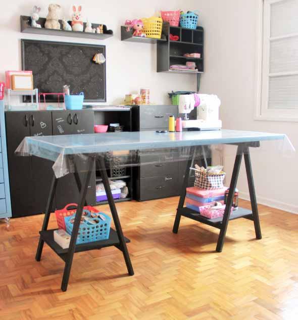 Sugestões de mesas artesanais criativas 004