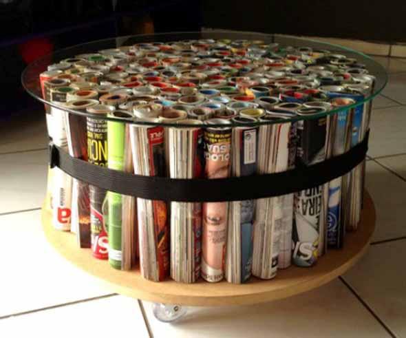 Sugestões de mesas artesanais criativas 005