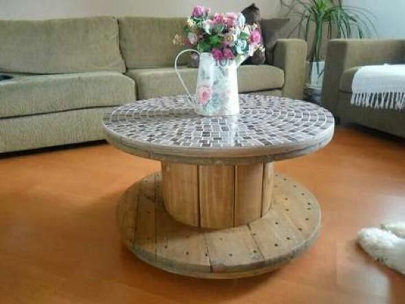 Sugestões de mesas artesanais criativas 006