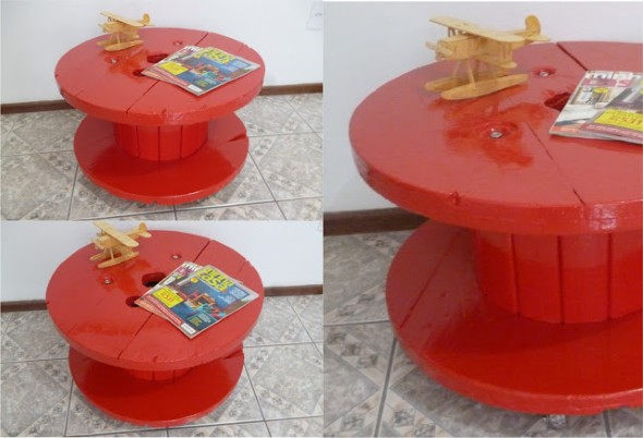 Sugestões de mesas artesanais criativas 007