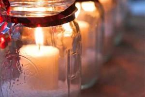 18 Maneiras de decorar com velas 008