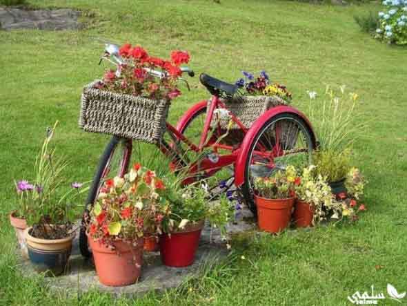 Canteiro de flores criativo para varanda e jardim 010