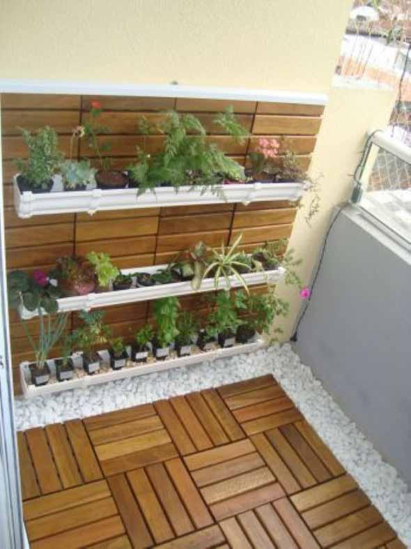 Canteiro de flores criativo para varanda e jardim 014