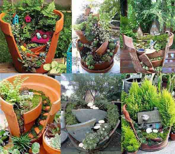 Canteiro de flores criativo para varanda e jardim 019