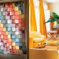 Cortinas coloridas na decoração 001