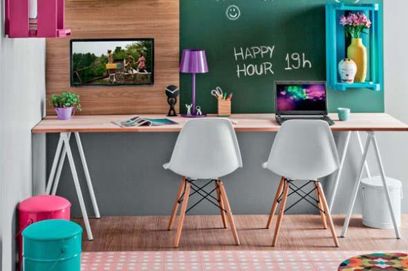 Mesa com cavaletes 014