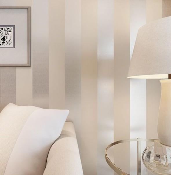 Home Design 3d Gold Icloud: Papel De Parede Metalizado Na Decoração