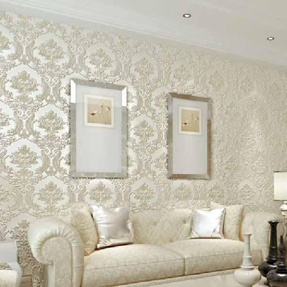 Papel de parede metalizado na decoração 019