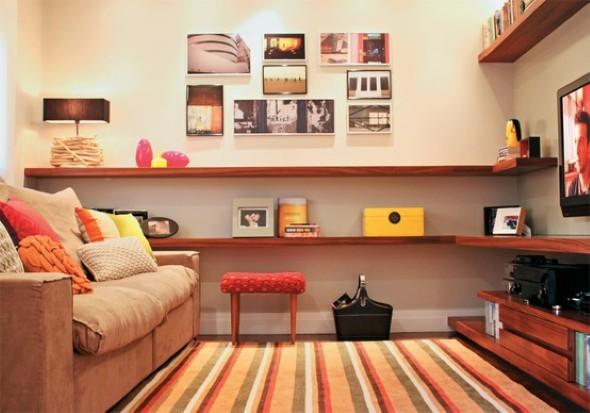 Sala de estar gastando pouco 010