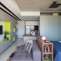 Apartamento pequeno com ambientes integrados 005