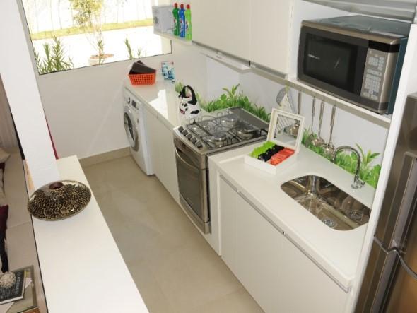 Apartamento pequeno com ambientes integrados 015