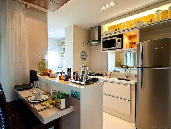 Apartamento pequeno com ambientes integrados 016